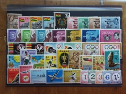 GHANA - Lotticino Nuovi ** - Serie Complete + Spese Postali - Ghana (1957-...)