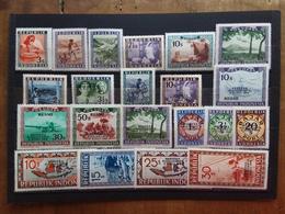 INDONESIA 1949 - Emissione Semi-ufficiale Nuovi ** + Spese Postali - Indonésie