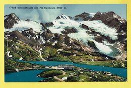 * Berninahospiz Und Piz Cambrena - Grisons (Switserland - Suisse - Schweiz) * (Wehrli A.G. Kilchberg, Nr 17726) étang - GR Grisons