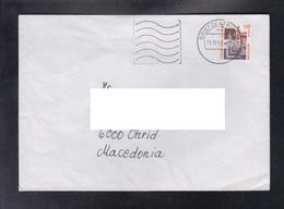 GERMANY, COVER / PRIORITY, REPUBLIC OF MACEDONIA ** - Ponti
