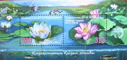Kazakhstan  2019   Flora   S/S    MNH - Kazakhstan