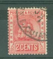 British Guiana: 1907/10   Ship   SG253   2c     Used - Brits-Guiana (...-1966)