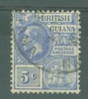 British Guiana: 1913/21   KGV    SG262   5c    Used - Guyane Britannique (...-1966)