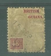 British Guiana: 1913/21   KGV    SG266   48c    Used - Guyane Britannique (...-1966)