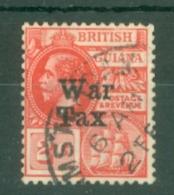 British Guiana: 1918   'War Tax' OVPT   SG271   2c      Used - British Guiana (...-1966)