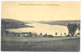 CPA 25 - Environs De PONTARLIER - Le Lac De Saint-Point - Pontarlier