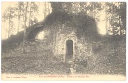 CPA 27 - Parc De RADEPONT (Eure) - Restes D'un Château Fort - Francia