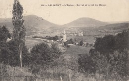 CPA - Le Mont - L'église - Belval Et Le Col Du Hantz - Frankreich
