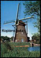 ÄLTERE POSTKARTE KINDERDIJK HOLLANDSE MOLEN WINDMÜHLE Mühle Mill Moulin à Vent Dutch Windmill Nederland Postcard Cpa AK - Moulins à Vent