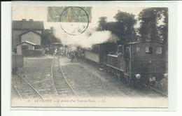 Somme, Le Crotoy, Arrivée Train Plaisir, ( Tous Frais En + 1,30 Euros ) - Le Crotoy