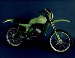 MTV 50cross +-24cm X 17cm  Moto MOTOCROSS MOTORCYCLE Douglas J Jackson Archive Of Motorcycles - Foto's