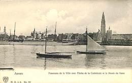 CPA - Belgique - Antwerpen - Anvers - Panorama De La Ville - Antwerpen