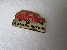 PIN'S   FIAT  PANDA  GARAGE  HUYGHE - Fiat