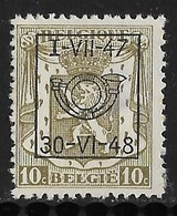 België Typo Nr. 568 - Typo Precancels 1936-51 (Small Seal Of The State)