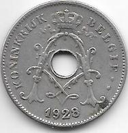 Belguim 10 Centime 1928 Flamisch Vf - 1909-1934: Albert I