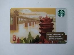 China Gift Cards, Starbucks, Wuhan, 200 RMB, 2018 (1pcs) - Gift Cards