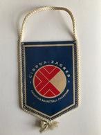 BASKETBALL  CROATIA CLUB KK CIBONA ZAGREB  PENNANT - Other