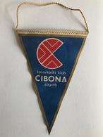 BASKETBALL  CROATIA CLUB KK CIBONA ZAGREB  PENNANT - Autres