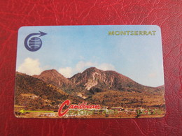 GPT Phonecard,3CMTB Landscape ,used - Montserrat