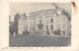 "CARTE PHOTO FRANCE 71 ""Chardonnay, Chateau Montlaville"" - Andere Gemeenten"