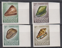 Togo 1964 Taxe 62/65  Coquillage Shell  Imperf *** MNH - Togo (1960-...)