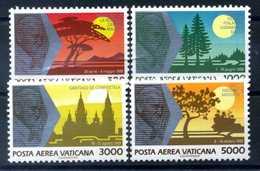 1990 VATICANO SET MNH ** - Poste Aérienne
