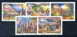 1988 VATICANO SET MNH ** - Poste Aérienne