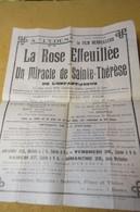 PROGRAMME ANCIEN CINEMA  Eden, Rue Léon-Gambetta Bolbec Imp Lasne - Programma's