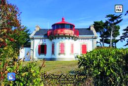 Set 6 Cartes Postales, Phares, Lighthouses Of Europe, France, Lannion, Le Phare De Beg Leger - Vuurtorens