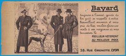 VETEMENTS BAYARD 28 RUE GRENETTE LYON GRANDE MARQUE  / COMPAGNIE DU GAZ DE LYON 1932 - Publicités