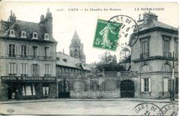 N°1083 T -cpa Caen -la Chambre Des Notaires- - Caen