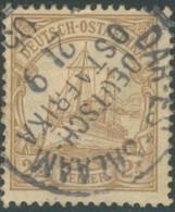 Afrique Orientale Allemande / Deutsch Ostafrika - N° 22 (YT) Oblitéré De Dar Es Salam. 1905. - Colonie: Afrique Orientale
