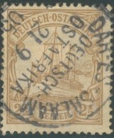 Afrique Orientale Allemande / Deutsch Ostafrika - N° 22 (YT) Oblitéré De Dar Es Salam. 1905. - Kolonie: Deutsch-Ostafrika