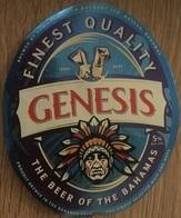 BAHAMAS : KALIK Beer GENESIS 2019  (+top And Back Label) - Beer