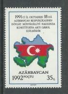 Azerbaidjan N° 77 XX Indépendance, Sans Charnière, TB - Azerbaïdjan