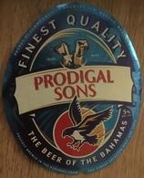 BAHAMAS : KALIK Beer PRODIGAL SONSs (+top And Back Label) - Beer