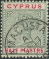 Chypre / Cyprus - N° 24 (YT) Oblitéré De Famacusta. - Cipro (...-1960)