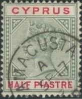 Chypre / Cyprus - N° 24 (YT) Oblitéré De Famacusta. - Zypern (...-1960)