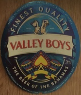 BAHAMAS : KALIK Beer VALLEY BOYS (+top And Back Label) - Beer