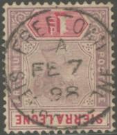 Sierra Leone / Sierra Leone - N° 32 (YT) Oblitéré De Freetown. - Sierra Leone (...-1960)
