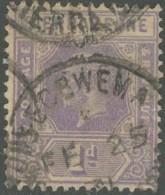 Sierra Leone / Sierra Leone - N° 109 (YT) Oblitéré De Segbwema. - Sierra Leone (...-1960)