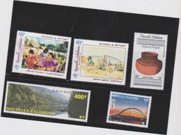 NOUVELLE CALEDONIE 5 T Poste Aérienne Neufs Xx 1991 1992 N°YT PA 278 à 282 - Airmail