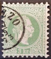 AUSTRIA 1867/74 - Canceled - ANK 36 I - 3kr - Used Stamps
