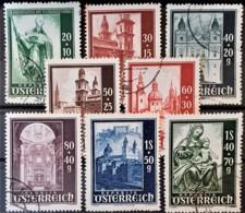 AUSTRIA 1948 - Canceled - ANK 931-938 - Complete Set! - 1945-60 Oblitérés