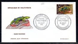 Haute-Volta 166 Fdc Lézard , Agame - Reptiles & Batraciens