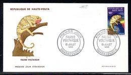 Haute-Volta 168 Fdc Caméléon - Reptiles & Batraciens