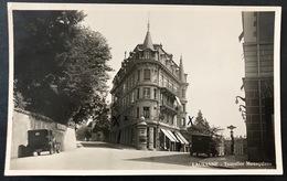Lausanne Tourelles Mosquines Oldtimer Autos/ Fotokarte - VD Waadt