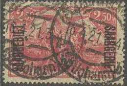 Sarre 1920-1935 - N° 48 (YT) N° 43 (AM) Oblitéré. - 1920-35 Saargebiet – Abstimmungsgebiet