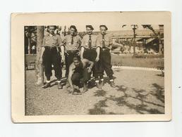 Photographie Chantier De Jeunesse Homme Torse Nu  Photo 6,5x9,5 Cm Env - Krieg, Militär