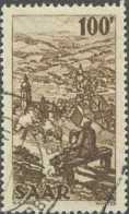 Sarre 1947-1956 - N° 262 (YT) N° 258 (AM) Oblitéré. - 1947-56 Occupazione Alleata